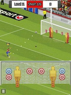 Free Nokia 110 / 112 / 113 Real football 2014 Software Download in