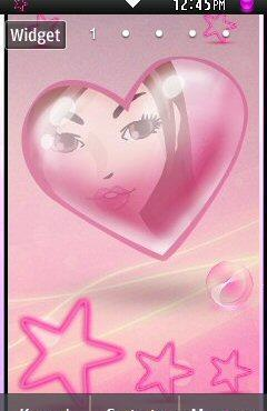 Free Java Pink Heart Theme Samsung Star 2 Software Download