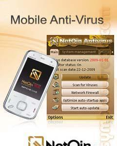 Antivirus android by google dev application on smartphone screen.