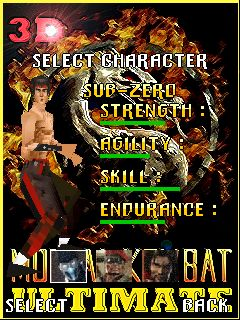 Free Nokia Asha 202/205 Mortal Combat Ultimate 3D Software