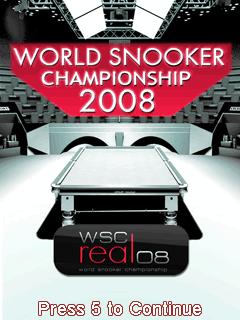 Free Nokia C2-01 World Snooker Championship 2008 3D Software