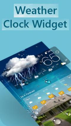 Free Samsung GT-S5360 / GT-S5363 Galaxy Y Weather and clock