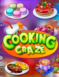 Cooking craze: A fast and fun restaurant game