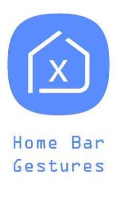 Home bar gestures