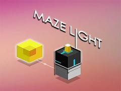 Maze light: Power line puzzle