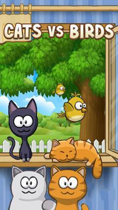 Cats vs birds