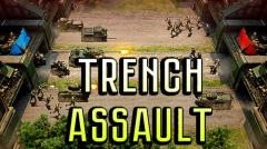Trench assault