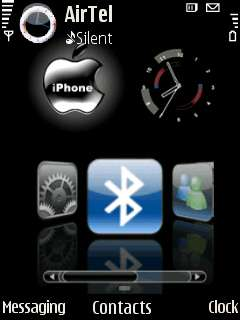 Free Nokia E72 Iphone Theme Software Download in Themes