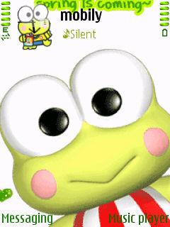 Free Nokia 5710 Cute Keroppi Software Download in Cartoons Tag
