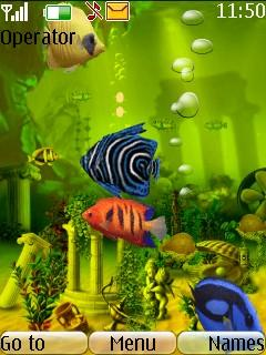 Animated Fish Tank