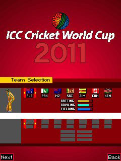 Free Nokia C1-01 (C1-02) ICC Cricket World Cup 2011 Software