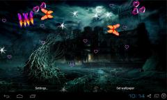 3D Mystic Night Wallpaper