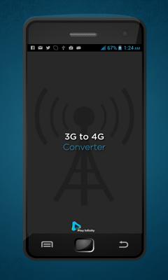 3G to 4G Power converter Prank