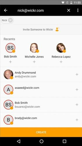 Free Android Wickr Me - Private messenger Software Download