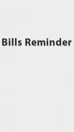 Bills Reminder