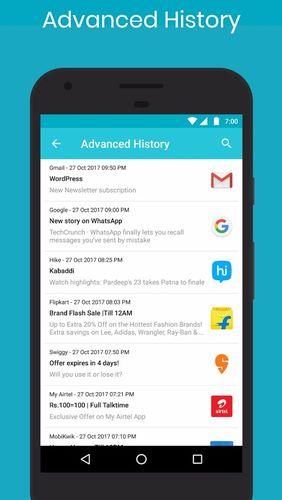 Free Samsung Galaxy Star GT-S5282 Notification history log