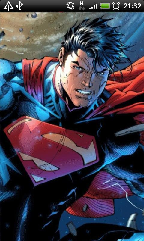 Free Android Superman Cartoon Live Wallpaper Software