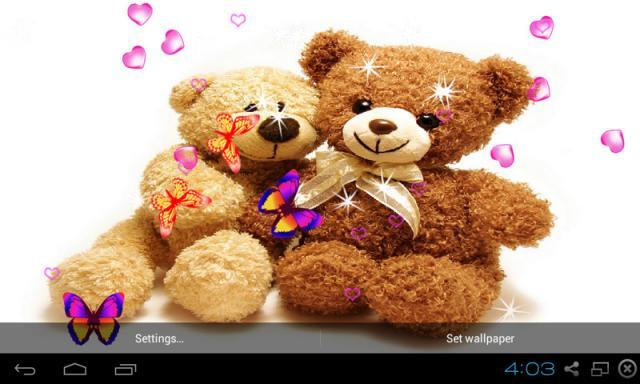 Free Huawei Ascend Y560 L03 Lte 3d Teddy Bear Live Wallpaper