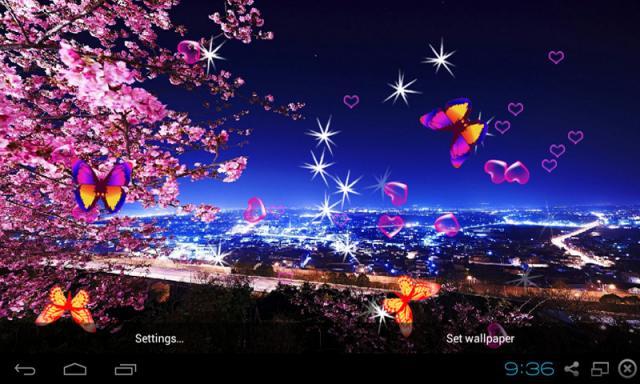 Free Bbk Vivo Y15 3d Peach Blossom Live Wallpaper Software Download