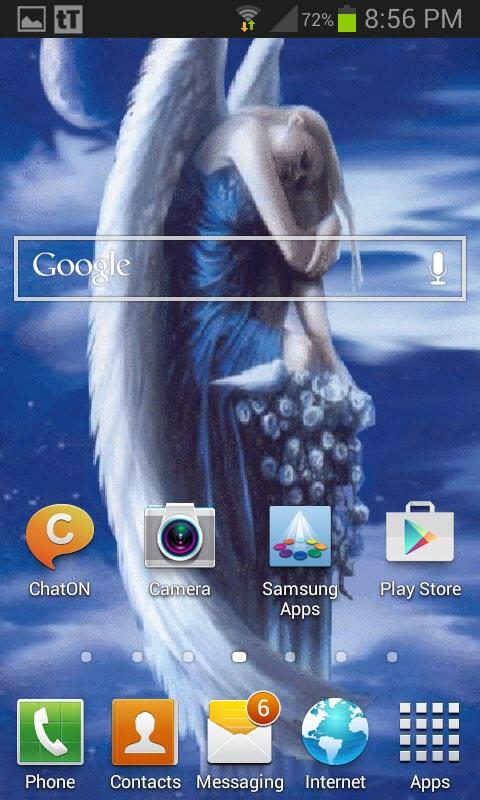 Free Acer Liquid Z520 Dual SIM Lonely Angel Live Wallpaper