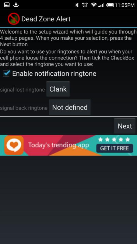 Free Samsung GT-B7810 Dead Zone Alert Software Download in Internet