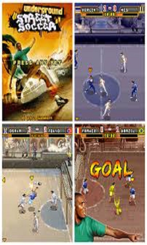 Free Nokia Asha 202/205 Street Football Ultimate Software