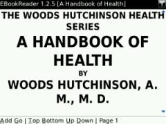 A Handbook of Health for BlackBerry