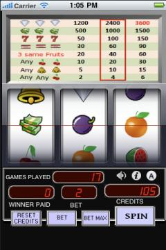 Cherry Slot Machine (iPhone)