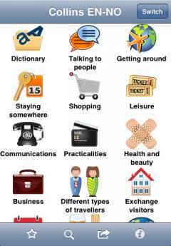 Collins English-Norwegian Phrasebook & Dictionary with Audio (iPhone/iPad)