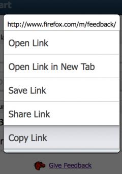 Copy Link - Firefox Addon