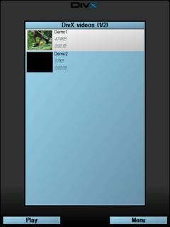 DivX Mobile Player