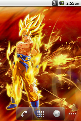 Dragon Ball Z Live Wallpaper Android