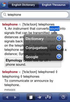 English Dictionary & Thesaurus by Ultralingua