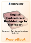 English Embroidered Bookbindings for MobiPocket Reader