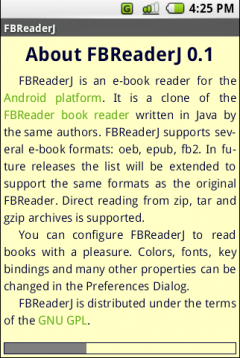 FBReader (Android)