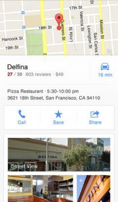 Google Maps (iPhone)
