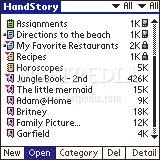 HandStory Basic for Palm OS