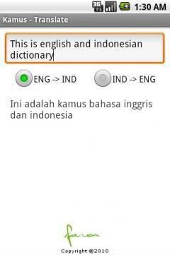 Kamus - Translate