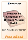 Lectures on Language for MobiPocket Reader