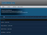 LyricsBlog Search Lyrics - Firefox Addon