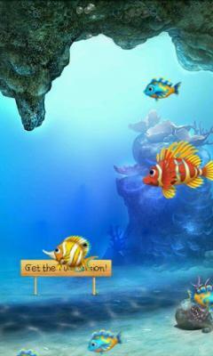 Magic Fish Aquarium Live Wallpaper Free