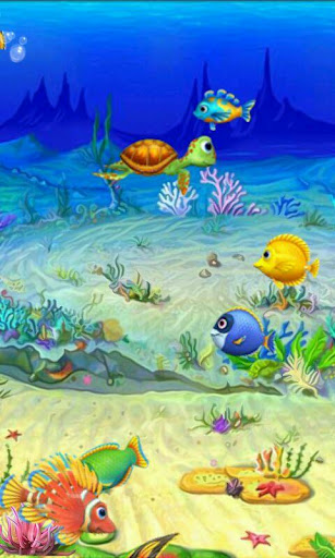 10 Beautifully Designed Virtual Fish Tanks To Choose From Night Day Mode Wallpaper Lighting Can Change Depending On Time Of The