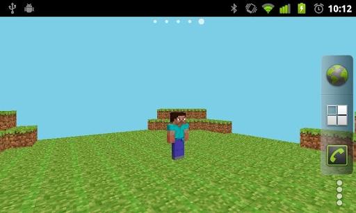 Free Motorola Moto Xt681 Minecraft Skin 3d Live Wallpaper