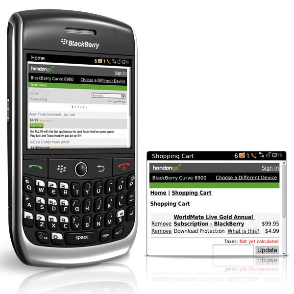 rss reader for blackberry