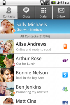 Nimbuzz (Android)