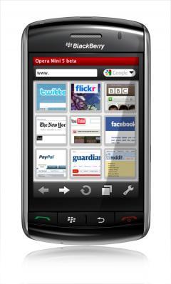 opera mini pour blackberry curve 8310