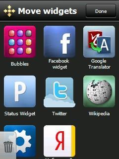 Opera Widgets Manager (Windows Mobile)