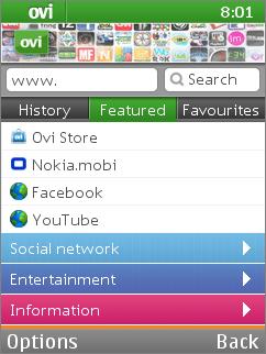Free Nokia 110 / 112 / 113 Nokia Browser Software Download