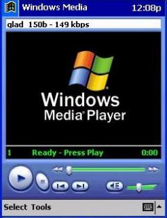 Windows Media Player  for Pocket PC