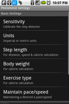 Pedometer (Android)